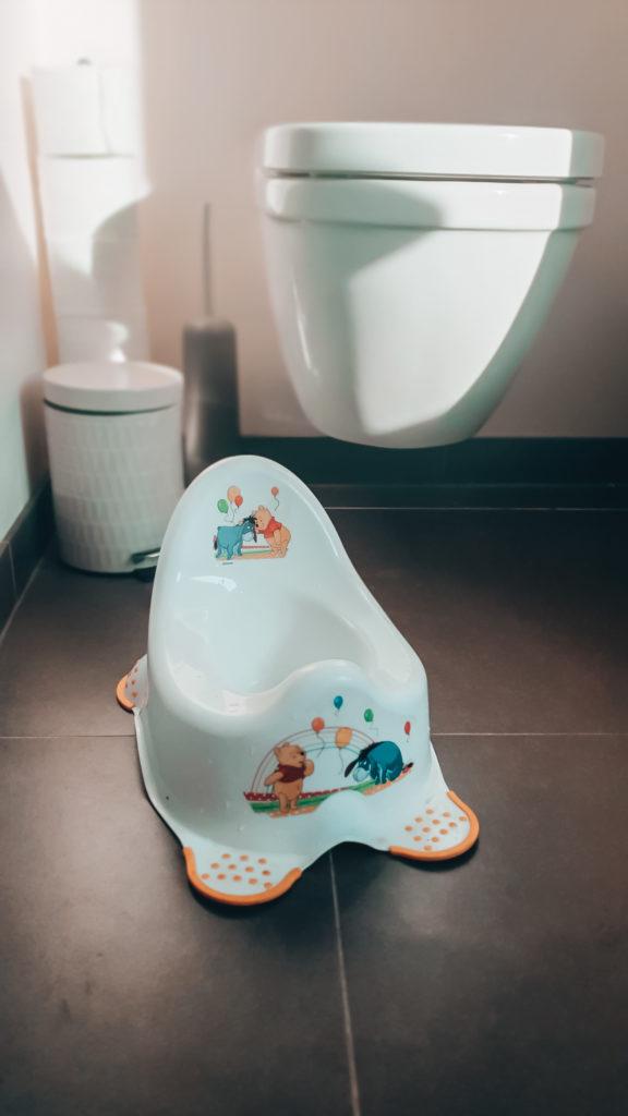 Potjestraining: Kleuterpotje van winnie the pooh