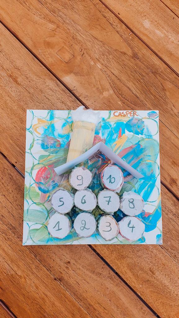 De aftelkalender, Leuke DIY met jouw kleuter!