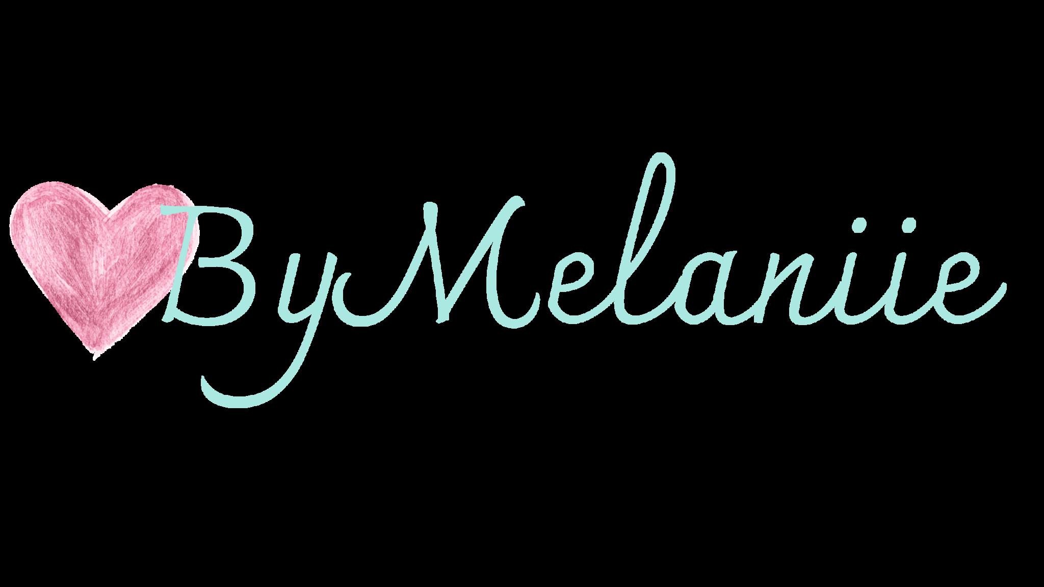www.bymelaniie.com LOGO